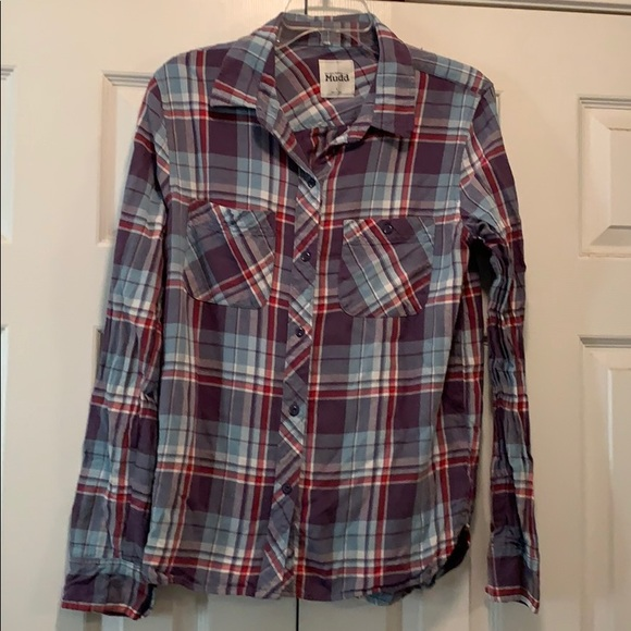Mudd Tops - Plaid shirt